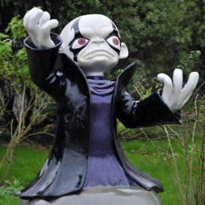Kaos personnage sculpté en 3D