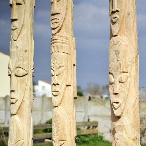 sculpture bois sur mesure